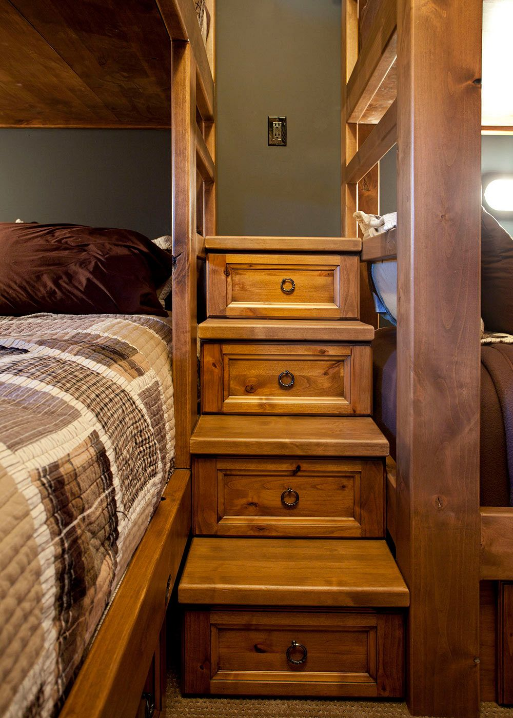 Bunk Bed steps with drawers.