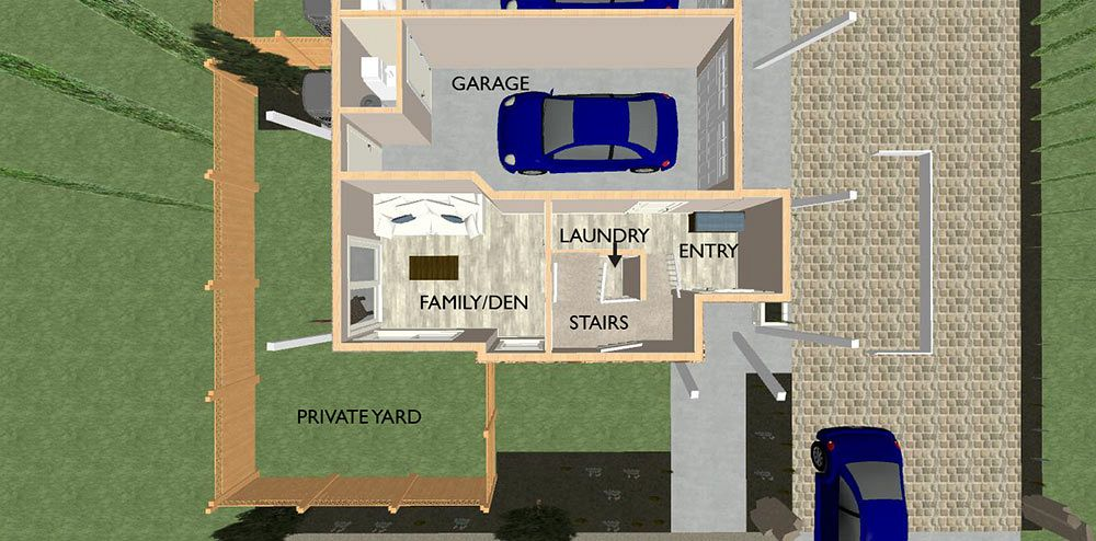 Unit Floor Plans, space planning for small homes